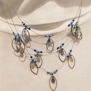 Jewelry - Beautiful Like New Spring Necklace!
